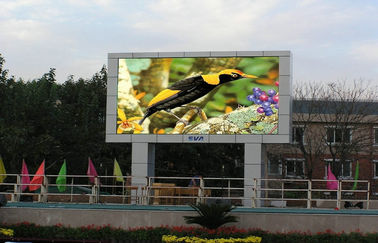 Outdoor pleine couleur conduit affichage