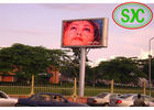 P10 Outdoor Usage and Full Color Tube Chip Color  Advertising LED screens
