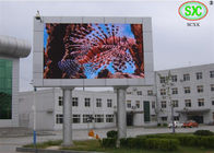 6m*9m outdoor p4 large led video billboard from SCXK Electronics Co.,Ltd
