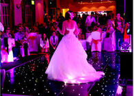 Rgb Stage Lighting Slim Video Dance Floor For Wedding Party Events , 3 Years Warranty