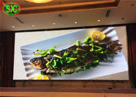 High Resolution P3 Full Color Advertising Led Screens Fixed Anti Corrosion Iron Cabinet