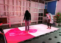 Full Color Indoor Video Led Dance Floor High Definition With 3 Years Warranty