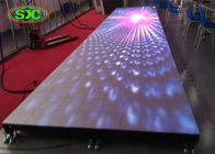 Indoor P6.25 Strong bearing capacity of Led Dance Floor for Bar / KTV / Prom