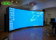 Curved Small Pitch P2.5 Full Color LED Display/HD TV Wall LED Screen