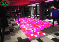 1R1G1B Outdoor P6 IP65 LED Dance Floor 1/8 Scanning For Concert Advertising