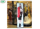 P3 Indoor Floor Stand LED Poster Screen , Advertising LED Mirror Display Full Color