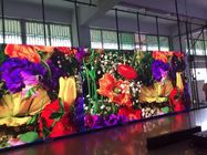 Flexible Indoor Full Color LED Display P4 HD Wide View Angle 3 Years Warranty