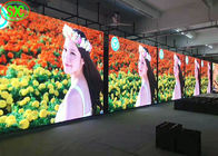 P3.91 Rental Indoor LED Display Screen , LED Stage Curtain Screen 3840Hz Refresh Rate