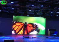 HD Indoor Rental LED Stage Background Curtain Advertising Video High Brightness