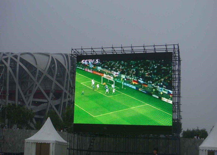 Commcercial Full Color P6 Led Display Module Display , LED Outside Display Boards