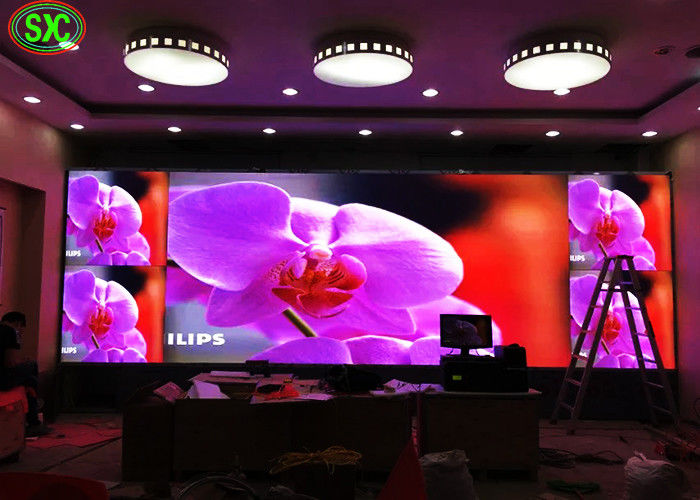 HD Indoor Full Color LED Display Customised Cabinet 2.5mm Small Pixel Pitch