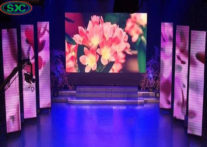 64*32 Dots Pixels HD P4 Rental LED Display Videos Stage Wall Screen For Concert