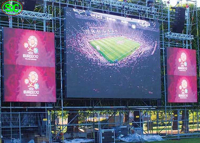 HD P3 Outdoor Rental Commercial Led Display Board , Led Video Display Panel