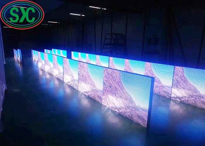 4 Physicial Pitch Outdoor Led Advertising Screens Wall Sign 3 Years Warranty