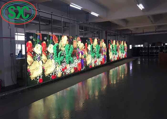Full Color P4 Large Outdoor Led Display Screens Wall Sign 2500 Nits Brightness