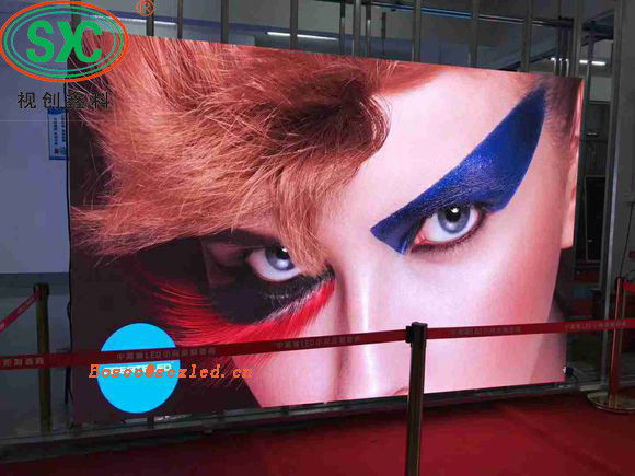 P4 HD Exhibition Stadium SMD LED Screen Wall High Resolution Easy Installation