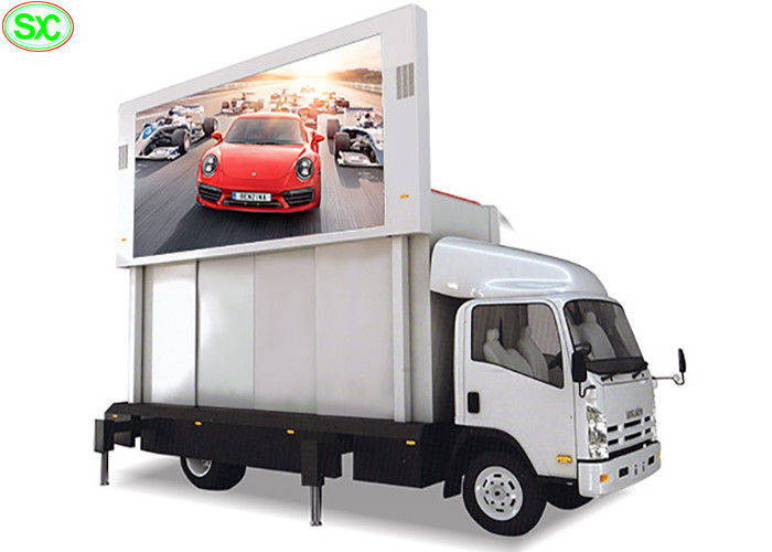 Waterproof Mobile Truck LED Display Rental Vehicle Screen P3.91 With Smd Lamp