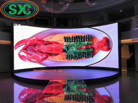 Meanwell Novastar System Outdoor Full Color LED Display SMD 2121 HD 1000x1000 Cabinet Size