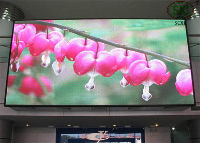 P4 Flexible RGB 3 In 1 Indoor Fixed LED Display High Frequency Dynamic Image