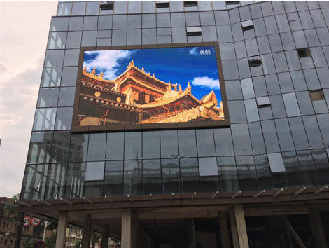 P10 Smd2121 Outdoor Led Screen Rental Full Color 16 Bit Grey Scale Levels