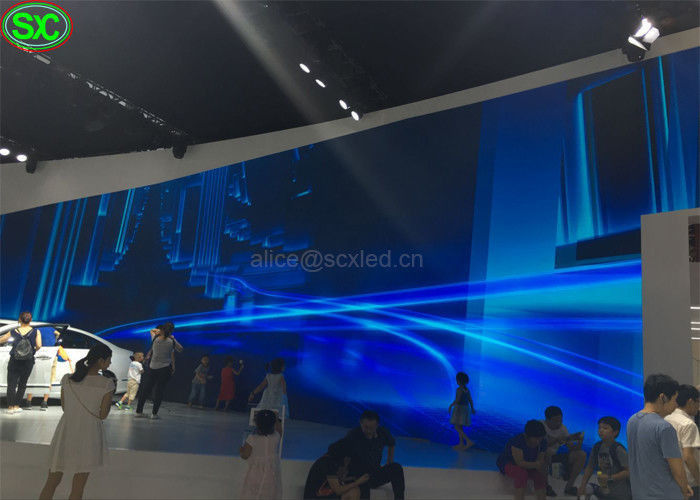 Car Exhibition Stage Outdoor Led Video Display P4.81 Super Clear Vision High Definition