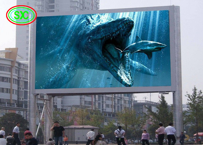 SMD 3535 P10 Outdoor Full Color LED Display320*160mm Module With Power Supply