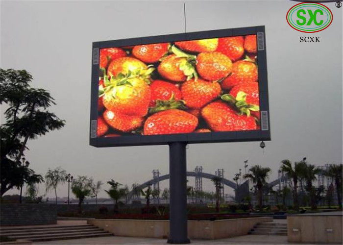 Tricolor High brightness Sync LED billboards advertising for mansion video wall