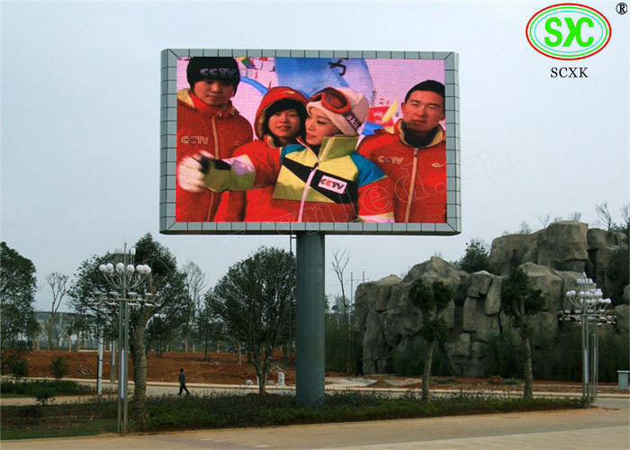 DIP346 IP65 large Stadium LED Display , Outdoor LED Screen with CE approved